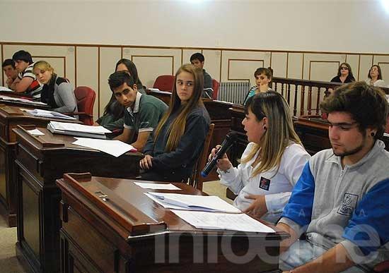 El Concejo Estudiantil realizará una nueva sesión