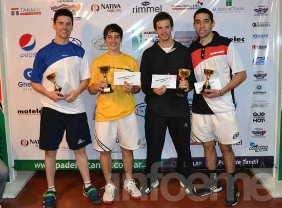 Marcos Silveri y Gonzalo Salias ganaron el torneo de segunda