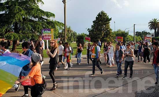 Quinta Marcha del Orgullo en Olavarría