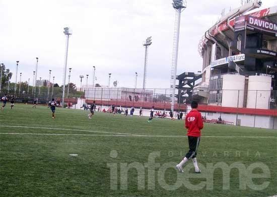 Llega River Plate a probar jugadores
