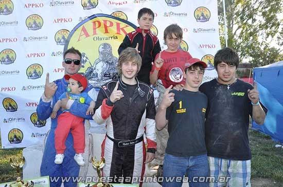 El Karting corrió la última y coronó a sus campeones