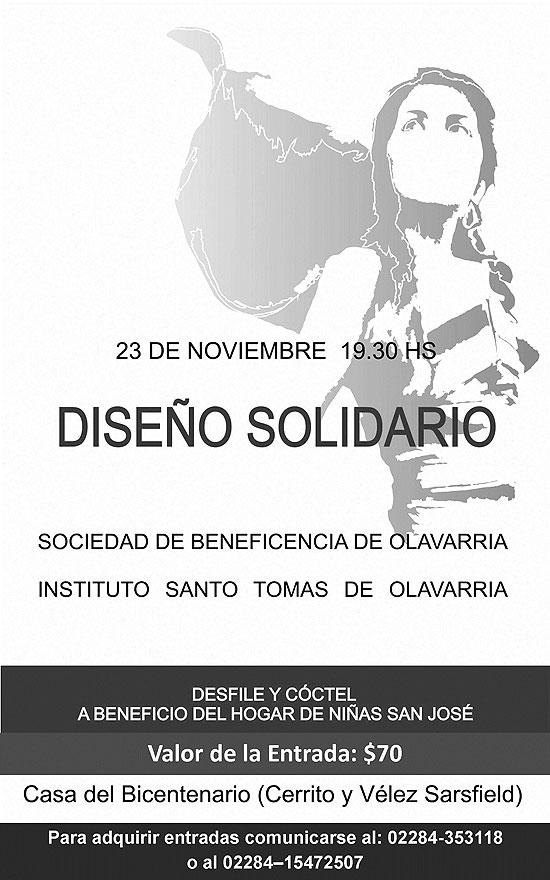 Desfile y cóctel solidario