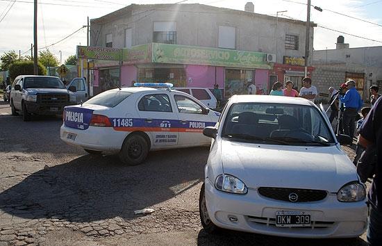 Choque en cadena en la avenida Alberdi: un hombre herido