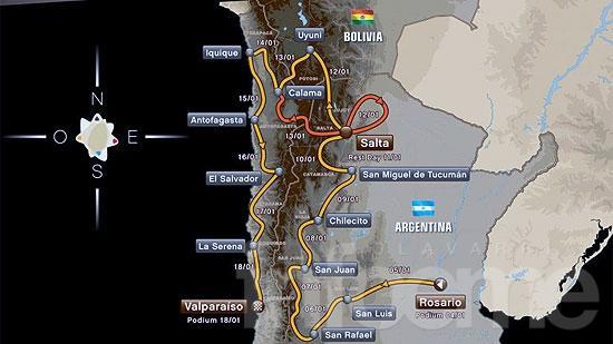 """Se lanzó el Dakar: """"La Galerita"""" de Barbery llevará el 434"""