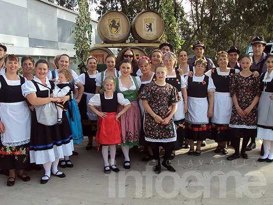 El ballet alemán de Olavarría se presentó en la provincia de Neuquén