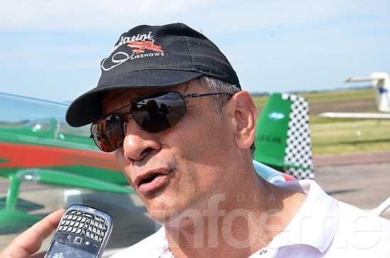 Jorge Malatini,  leyenda de la acrobacia aérea