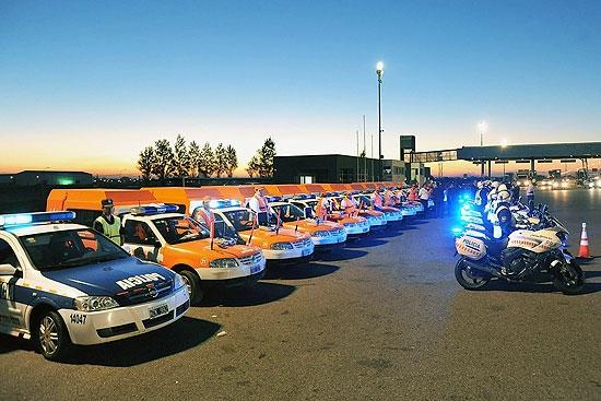 La Provincia labró más de 1200 infracciones en rutas a la costa