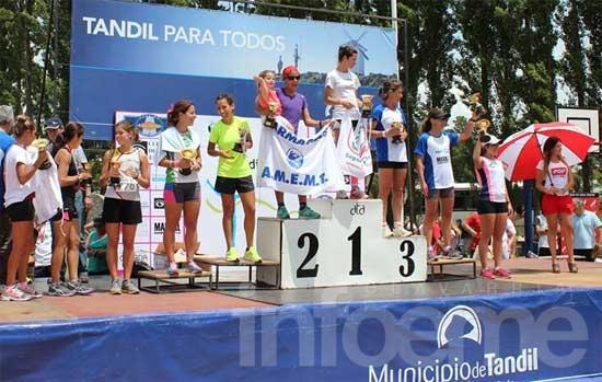 Rosana Luisetti fue tercera en la Tandilia