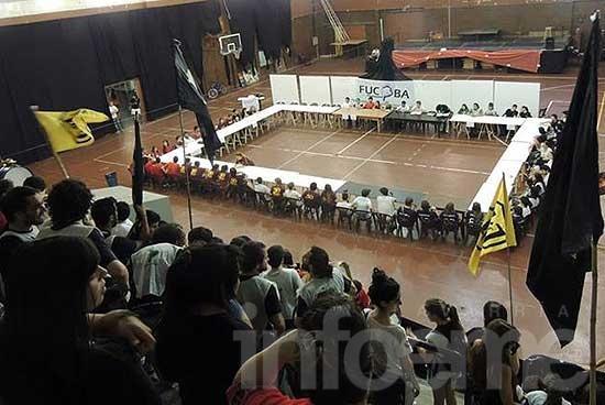 Se realizó el segundo Congreso de la Federación Universitaria del Centro de la Provincia de Buenos Aires
