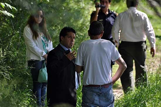 Caso Ortega: el fiscal recibió a la esposa de la víctima