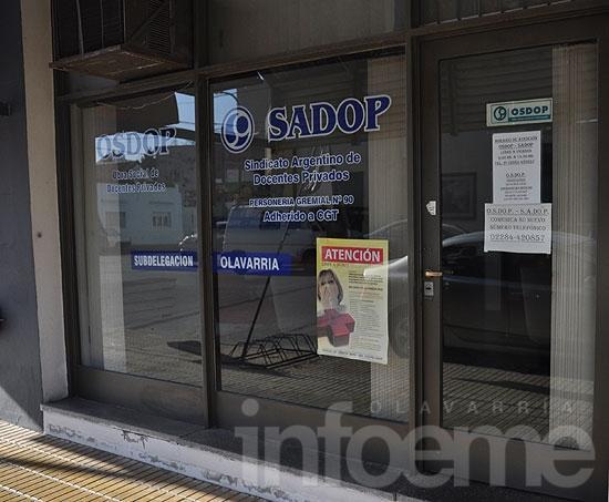 Sadop tendrá su Delegación en Olavarría