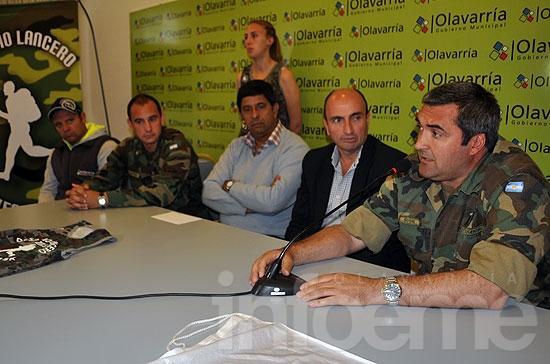 """Presentaron la carrera """"Desafío Lancero 2013"""""""