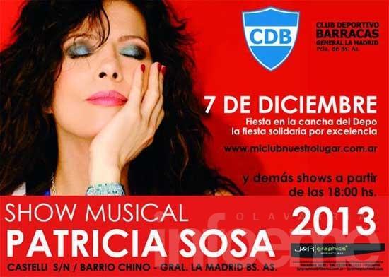 Programas locales regalarán entradas para ver a Patricia Sosa