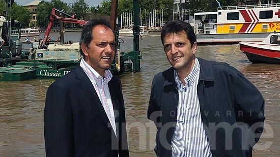 Scioli y Massa acordaron por el Presupuesto