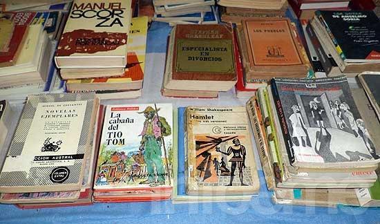 Se viene la cuarta feria de libros usados