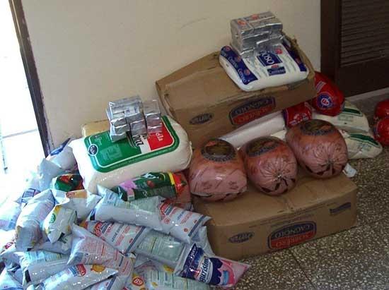 Decomisaron 210 kilos de lácteos, quesos y derivados