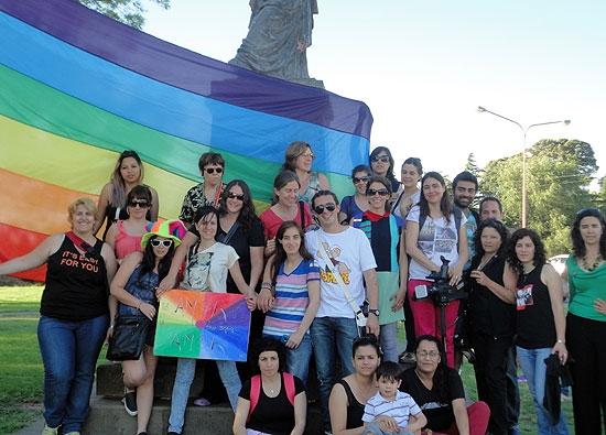Se realizó la sexta Marcha del Orgullo