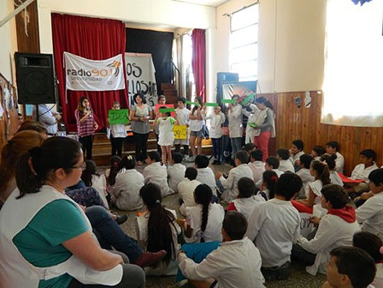 Realizaron un taller de Radio Comunitaria Itinerante