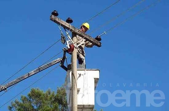 Falla eléctrica ocasionó cortes de luz en una zona de la ciudad