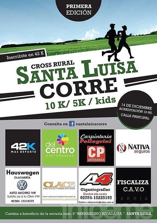 Santa Luisa Corre, primera edición