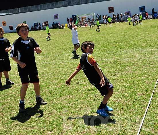 Encuentro regional de fútbol infantil CAE 2014