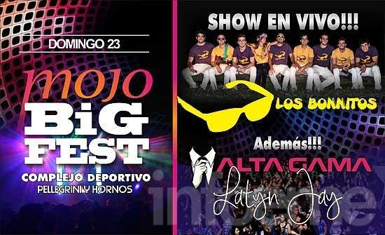Arranca la venta de entradas para la Mojo Big Fest