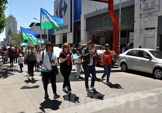 Jornada de paro y de protestas de gremios docentes