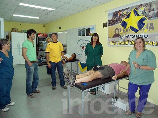 Exitosa colecta externa de sangre en la Peña de Boca Juniors