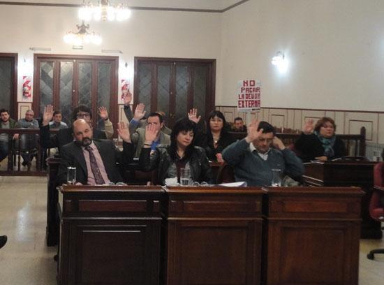 El Concejo Deliberante sesionará este jueves