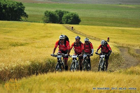 Carrera de aventura combinada en Sierras Bayas