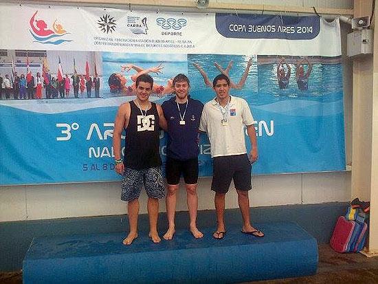 Otra medalla de oro para Agustín Acosta