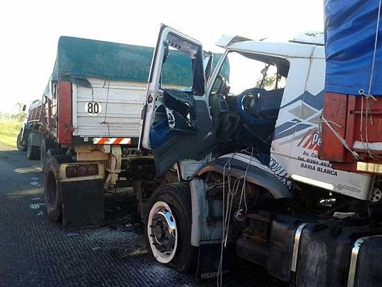 Olavarriense involucrado en accidente sobre ruta 3