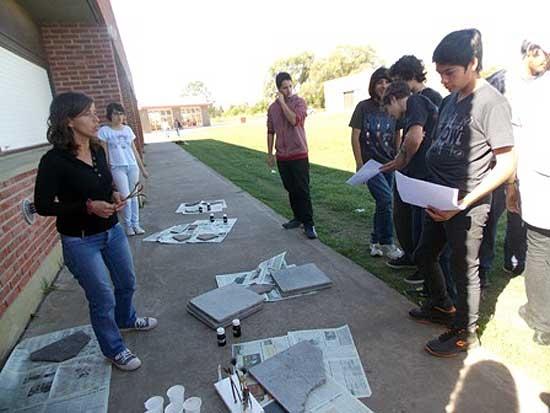 Alumnos de la ES Nº 20 se acercaron a la arqueología