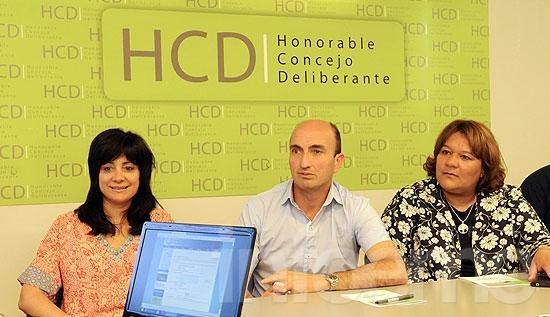 Presentaron la nueva Web del Concejo Deliberante