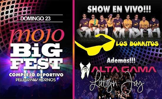 En venta las entradas anticipadas para la Mojo Big Fest