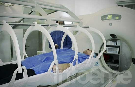 Una innovadora camilla para pacientes complejos