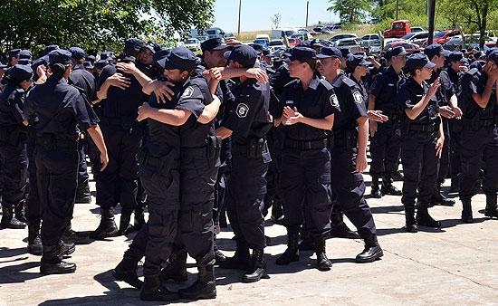 Egresaron más de 300 policías de la Escuela de Loma Negra