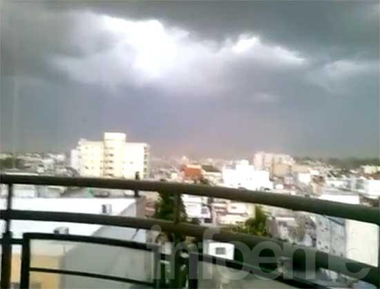 El temporal dejó heridos leves, daños materiales y cortes de luz