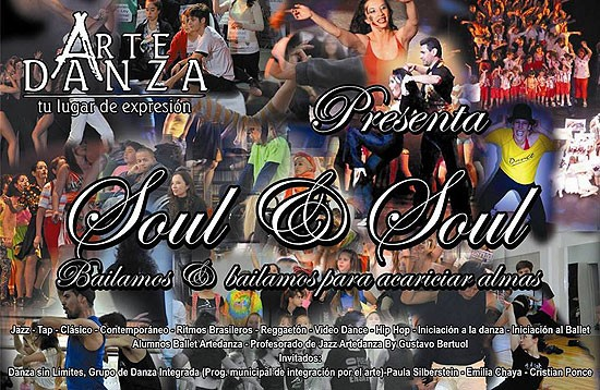 "Arte Danza presenta ""Soul & Soul"""
