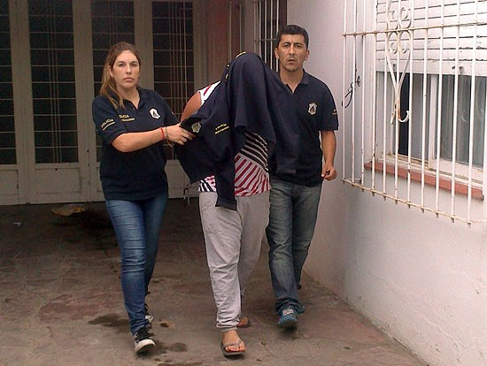Allanamiento y detención por robos