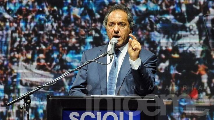 """Daniel Scioli: """"Vamos a ganar el ballotage por penales a último momento"""""""