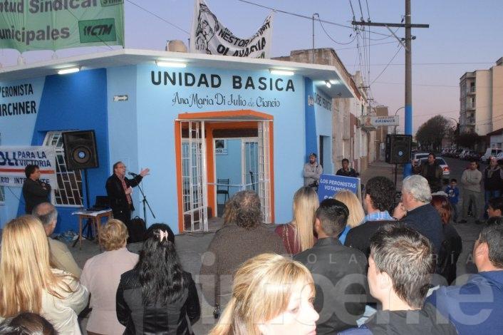 La Agrupación N. Kirchner refuerza la militancia por Scioli