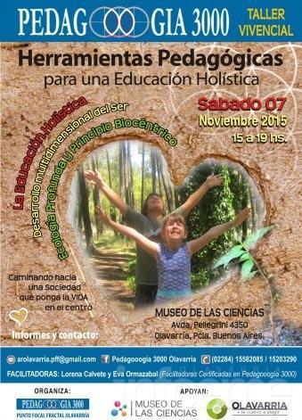 Pedagogía 3000 organiza jornada de capacitación sobre ecología profunda