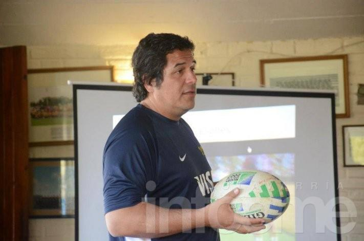 Juan Casajus cerró su capacitación en Los Toros