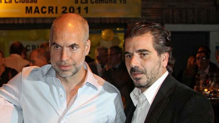 A Larreta se le escapó y confirmó a Ritondo como ministro de seguridad de Vidal