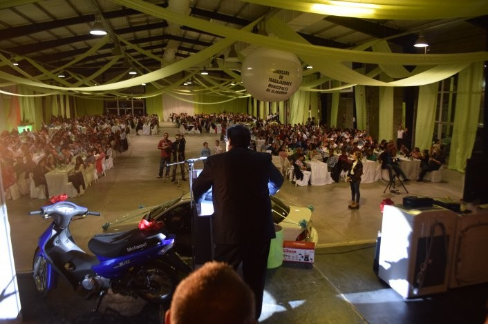 La gran fiesta de los municipales convocó a 1400 afiliados