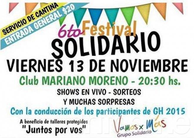 Sexto festival solidario de Vamos x Más