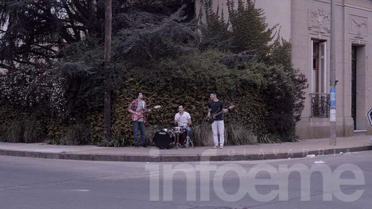 """""""Las palabras"""", el primer videoclip de una nueva banda olavarriense"""