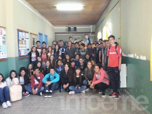 Jornadas de RCP en la Escuela Nº4