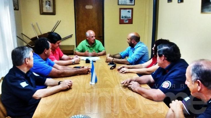 Bomberos Voluntarios recibió un subsidio de 300 mil pesos